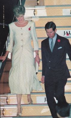 Diana and Charles - 1991?