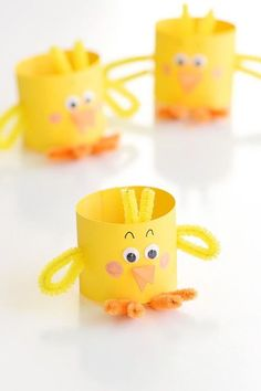 60 creative and easy Easter craft ideas and tips for a fun Easter egg hunt - living idea . - 60 creative and easy Easter craft ideas and tips for a fun Easter egg hunt – living ideas and dec - Bunny Crafts, Easter Crafts For Kids, Toddler Crafts, Preschool Crafts, Easter Ideas, Easter Decor, Basket Crafts, Teen Crafts, Cup Crafts