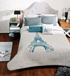 84749 Jgo Edredon Qs Torre Eiffel Vianney