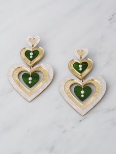 Jewelry Making Beads, Clay Jewelry, Resin Jewellery, Jewellery Earrings, Diy Acrylic Earrings, Beaded Earrings, Beaded Jewelry, Hoop Earrings, Polymer Clay Sculptures