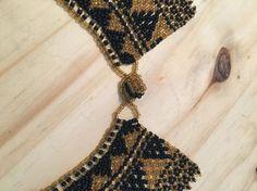 Handmade Native American collar necklace Beaded Collar, Collar Necklace, Tassel Necklace, Arrow Necklace, Native American Beading, Chanel Boy Bag, Straw Bag, Shoulder Bag, Etsy
