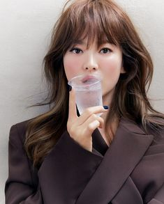 Lorraine, Song Hye Kyo Style, Brown Suits, Indian Summer, Brown Fashion, Korean Beauty, Brown Hair, Actors & Actresses, Monochrome