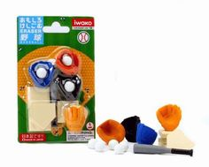 Iwako Japanese Eraser Set - Baseball by Iwako, http://www.amazon.com/dp/B001AB6BOW/ref=cm_sw_r_pi_dp_gkmXrb05DM3HZ