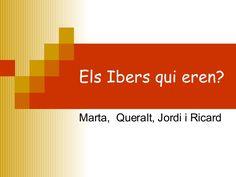 Els Ibers qui eren? Marta,  Queralt, Jordi i Ricard