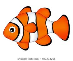 Find Reef Fish Clown Fish Fish Isolated stock images in HD and millions of other royalty-free stock photos, illustrations and vectors in the Shutterstock collection. Easy Fish Drawing, Fish Drawing For Kids, Fish Cartoon Drawing, Cartoon Fish, Fish Drawings, Art Drawings For Kids, Cartoon Drawings, Cartoon Sea Animals, Fish Crafts