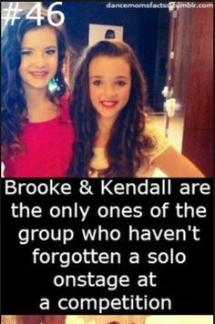Brooke Hyland and Kendall Vertes facts