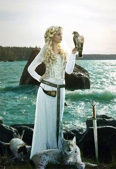 Happy Friday!!!! (Glædelig Fredag!!!!) Freyja Art Print by lindowyn on Etsy, $20.00