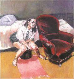 Paula Rego, Triptych, Right Panel abortion series Paula Rego Art, Figure Painting, Painting & Drawing, Fine Art, Contemporary Paintings, Erotic Art, Figurative Art, Gouache, Female Art