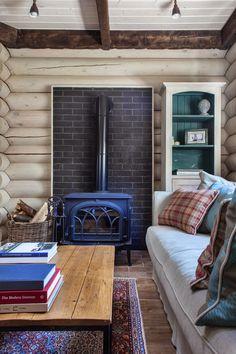 дневник дизайнера: Скандинавский интерьер загородного деревянного дома в…