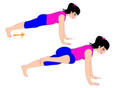 Melarossa ti consiglia cinque esercizi per addominali e glutei da poter fare direttamente a casa tua, tonificando così il tuo corpo.