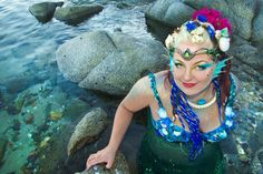 #mermaid #circlet photo by #SonoranMuses, shot in San Carlos Mexico OrganicArmor.com/shop