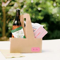 Gift bags are a great way to introduce guests to what your wedding location has to offer.Local Treats | SouthernLiving.com