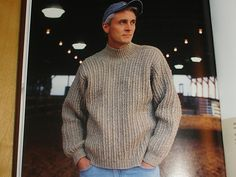 Ravelry: T-pin's Sweater for A?