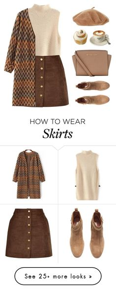 """Suede Boots"" by sweetpastelady on Polyvore featuring H&M and MICHAEL Michael Kors"