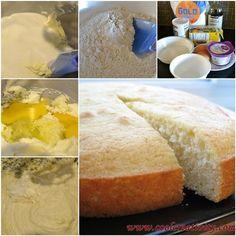 DIY Yummy Yogurt Cake-Quick and Easy Recipe