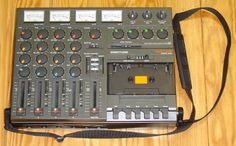 Tascam Portastudio...my most prized possession of my teenage years where I recorded all of my songs. It's amazing how much more creative you had to be to maximize four tracks.