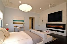 Have you ever tried placing your fireplace in your master bedroom? This is one of the most modern design plans that you can ever do for your master bedroom. However, it is not easily done because y…