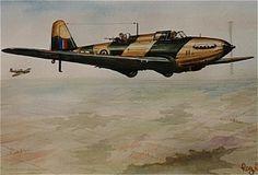 FAIREY BATTLE III   Range: 1050 miles  Bomb Load: 1500 lbs  Max Speed: 257 mph  Ceiling: 25000 ft  Engine: Rolls Royce Merlin III  12 cylinder V inline 1030 hp