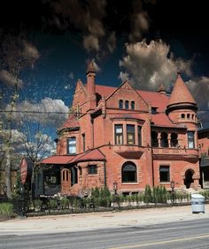 ˚George Horace Gooderham (1868-1942) built this house in 1891 - Toronto, Canada
