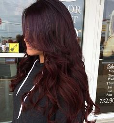 ombre red purple hair - Google Search