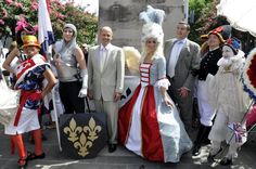 Bastille Day at the French Market in New Orleans.