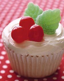 Holly Cupcakes Recipe
