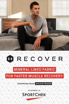 UA Recover is created from innovative fabrics lined with minerals to improve muscle recovery so you get back to full strength faster. Training Schedule, Muscle Recovery, Henley Shirts, Comfortable Fashion, Optical Illusions, Ua, Crossfit, Minerals, Under Armour