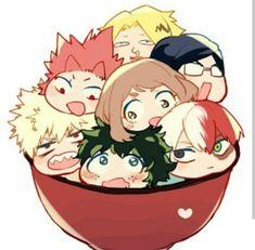 My hero academia chibi! Anime Chibi, Kawaii Chibi, Fanarts Anime, Cute Chibi, Kawaii Anime, Boku No Hero Academia, My Hero Academia Memes, Hero Academia Characters, My Hero Academia Manga