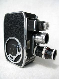 Vintage Bolex Paillard 8mm Movie Camera