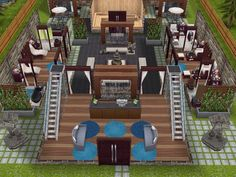 House 62 - Spa Retreat level 1 #sims #simsfreeplay #simshousedesign