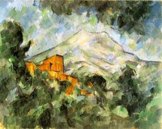Paul Cezanne Paintings Of Mont Sainte Victoire