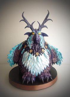 Moonkin Druid - world of Warcraft - Cake by Mnhammy by Sofia Salvador