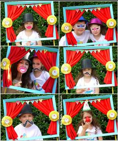 "Carnival party ""photo booth"""