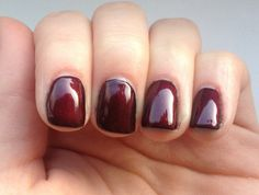 Cnd shellac layering Blackpool x 2 with masquerade x1