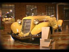 Auburn, Cord & Duesenberg Museum video. The ACD Museum is located in Auburn, Indiana.  So much of our childhood was based around these old cars.  There is a worldwide auction of these cars during Labor Day Weekend.  I still dream of having one of these cars.
