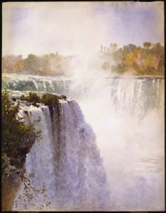 O'Brien, Lucius Richard, Canadian, 1832 - 1899 Niagara 1892 Watercolour over graphite on paper Overall (paper): 71.1 x 55.2 cm (28 x 21 ¾ in.) Gift of the Government of the Province of Ontario, 1972 © 2015 Art Gallery of Ontario