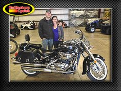 Thanks to John Moran and Katie Caldwell from Ocean Springs MS for getting a 2005 Suzuki Boulevard C50 @HattiesburgCycles
