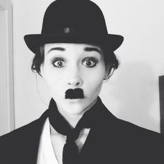 Charlie Chaplin Halloween Costume - cheap & simple