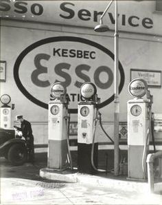 Gasoline Station, Tenth Avenue and 29th Street, Manhattan.