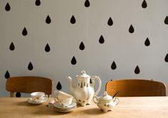 Studio Violet Droplet Wall