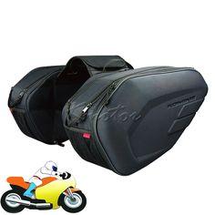 84.59$  Watch now - http://alilne.worldwells.pw/go.php?t=32536779374 - Komine sa212 Motorcycle Saddle Bags Waterproof Motorbike Tail Side Bag Black Helmet  Luggage Tool Bag 36L-58L 84.59$