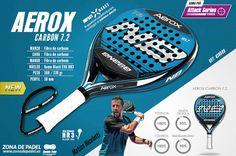 Nueva NB 2015 AEROX CARBON 7.2, la nueva colección 2015 de palas de #padel.