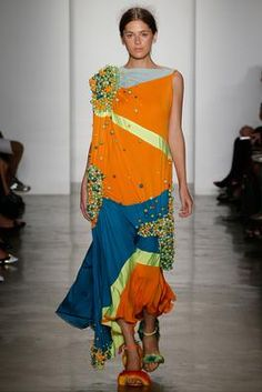 Parsons MFA Spring 2015 Ready-to-Wear Fashion Show: Complete Collection - Style.com