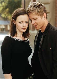 Rory and Logan / Alexis Bledel and Matt Czuchry In Gilmore Girls
