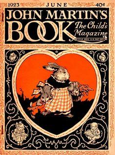 John Martin's Book 1923-06 Mother rabbit
