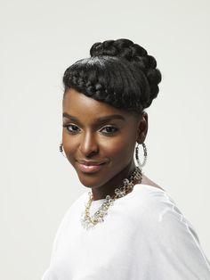 Braided Hairstyles For Black Women, Braided Hairstyles Updo, Formal Hairstyles, Protective Hairstyles, Diy Hairstyles, Black Hairstyles, Braided Updo, Wedding Hairstyles, Protective Styles