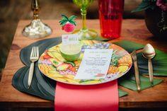 Tropical Love - Una decoración de boda diferente y original en All Lovely Party