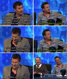 When Adam Hills didn't do a lot to confound stereotypes.