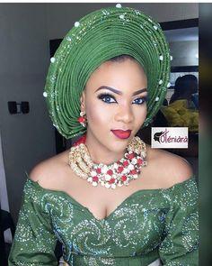 Gorgeous Beads @beadsbyoludee Mua @oteniaramakeovers