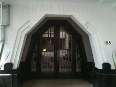 Art deco stlye hotel in La Condesa,Mexico.
